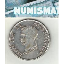 Bolivia Moneda De 4 Soles De Plata 1856 F J Km 123.2 - Xf-