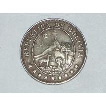 10 Centavos 1939. República De Bolivia..