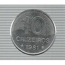 Brasil 10 Cruzeiros 1981