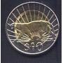 Uruguay, 10 Pesos, Bimetalica, Año 2011 Sin Circular