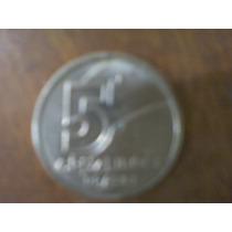 Moneda De 5 Cruzeiro Año 1991, Sin Circular !!!