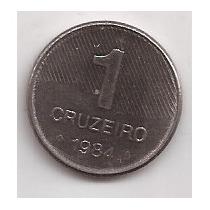Brasil Moneda De 1 Cruzeiro Año 1984 !!