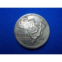 Moneda De Brasil De 2 Cruzeiros De 1946