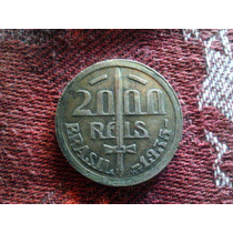 Moneda 2000 Reis Caxias - Brasil - 1935 Plata ( Y )