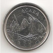 Brasil, 1000 Cruzeiros, 1993. Fauna, Acara. Brillante Unc