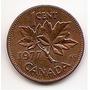 Moneda Canada De 1 Centavo Cent Año1977 Km#59.1