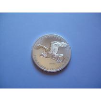 Moneda Canadá Plata Pura .9999 Onza (31,1 G) Bald Eagle 2014