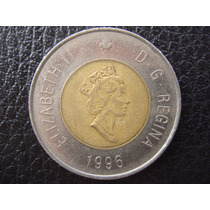Canada - Moneda Bimetalica D 2 Dolares, Año 1996 - Muy Bueno