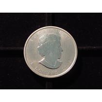 Canada Onza De Plata Fina 999 - 5 Dolares Año 2013 Bu 31,1 G