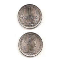 Moneda Colombia 1 Centavo 1956