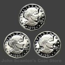 Robmar-monedas De 1 Dolar Anthony A $45.-cada Una A Elejir