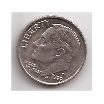 Eeuu Moneda De 1 Dime Año 1999 P !