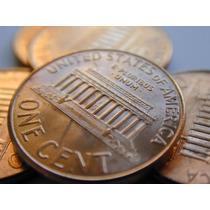 Lote De 50 Monedas 1 Centavo De Dolar Varios Años 299 $