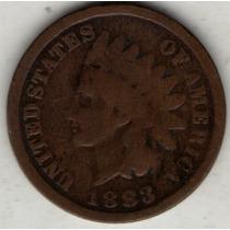 Estados Unidos Usa 1 Cent 1883 B/mb