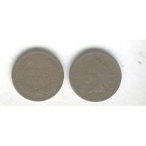 Moneda Estados Unidos 1 Centavo Año 1905, Cabeza De Indio!!!