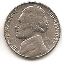 Moneda Estados Unidos De 5 Centavos.five Cents Año1973