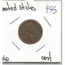 Estados Unidos Moneda De Un Centavo De 1940