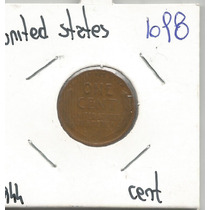 Estados Unidos Moneda De Un Centavo 1944