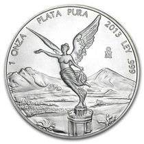Robmar-mexicano De Plata 1 Onza De Plata-y Varios Años