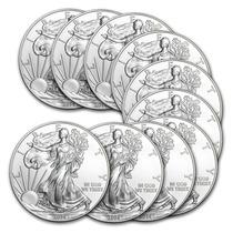 Robmar-u.s.a.-1 Dolar Del 2014 -1 Onza De Plata-y Variantes
