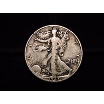 Moneda 1/2 Dolar Liberty 1943 Eeuu 12,5 Plata 900 Half Medi
