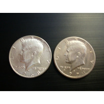 Lote De 2 Monedas 1/2 Dolar 1968 - 1971