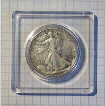 Estados Unidos ½ Dólar Plata 1942 D Encapsulada
