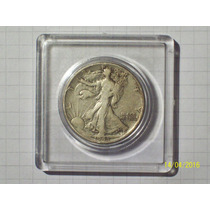 Estados Unidos 1/2 Dólar Plata 1943 Encapsulada