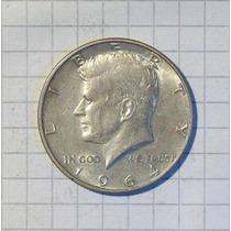 Estados Unidos ½ Dólar Plata 900 Kennedy 1964 12,5 Gr