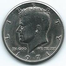 Moneda De Ee Uu 1/2 Dolar 1971 (d) Excelente +++++