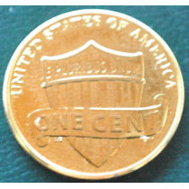 1 Moneda De Un Cent Año 2010 Baño De Oro 24 Kl. Usa