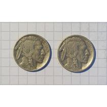 Estados Unidos 5 Centavos Bufalo 1930-34