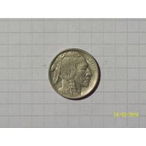 Estados Unidos 5 Centavos 1915 Linda Y Escasa