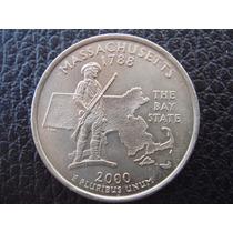 U. S. A. - Massachusetts, Moneda D 25 Centavos (cuarto) 2000