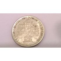Usa 1/2 Dolar De Plata 1946 Hall Of Fame Booker T.washington
