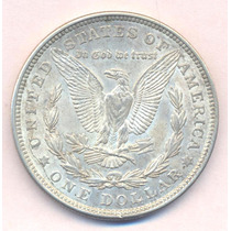 Usa Dolar Morgan 1921 Plata Excelente + Silver Crown Dollar