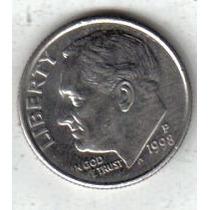 Estados Unidos Moneda 1 Dime Año 1998 P !!