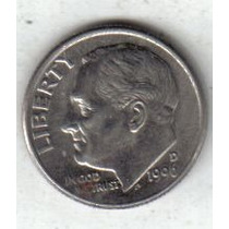 Estados Unidos Moneda 1 Dime Año 1996 D !!!