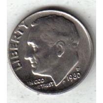 Estados Unidos Moneda 1 Dime Año 1980 P !!!