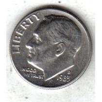 Estados Unidos Moneda 1 Dime Año 1983 D !!