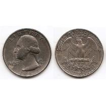 Moneda De Estados Unidos De 25 Cent.cuarter Dolar Año1987p