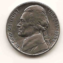 Moneda Estados Unidos De 5 Centavos.five Cents Año1984p(#)