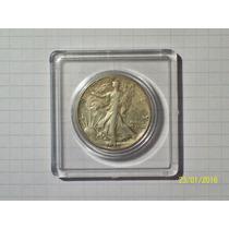 Estados Unidos 1/2 Dólar Plata 1945 Muy Linda