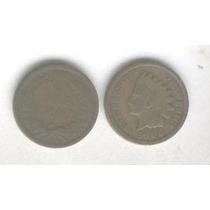 Moneda Estados Unidos 1 Centavo Año 1906, Cabeza De Indio!!!