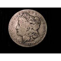 Estados Unidos Morgan Dolar 1881 S Plata 900 26.7 Gs. Eeuu 1