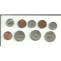 Lote Monedas De Estados Unidos