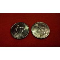 Moneda Usa Pte Jhon Adams Un Dolar 2007 P