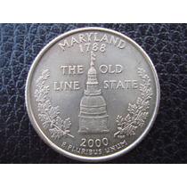 U. S. A. - Maryland, Moneda D 25 Centavos (cuarto), Año 2000