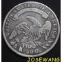 50c, Moneda Antigua De Estados Unidos Del Año 1834 Plata