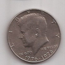 Eeuu Moneda De 1/2 Dolar Año 1976 Conmemorativa !!!